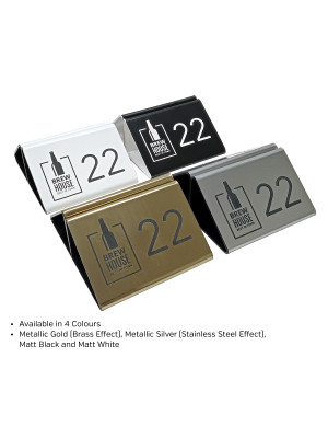 Branded Laser Engraved Menu Holder. Perfect for Pubs, Bars & Restaurants