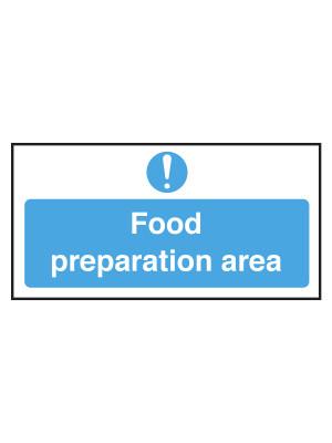 Food Preparation Area Notice - CS030