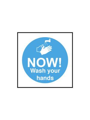 Now Wash Your Hands Notice - CS146