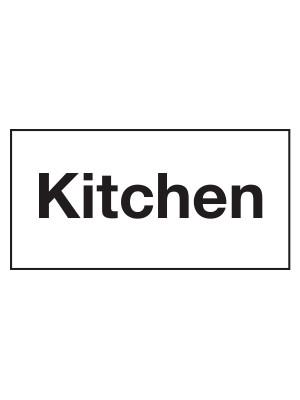 Kitchen Door Sticker - CS158