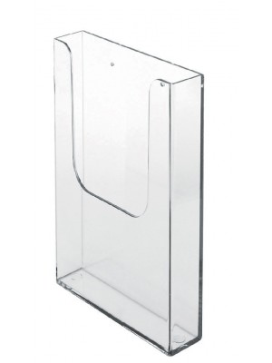 1/3 A4 Wall Mounted Leaflet Dispenser - CT006