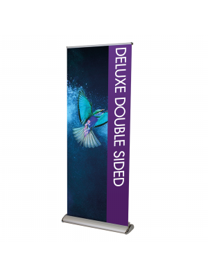 Deluxe Roller Banners - Double Sided