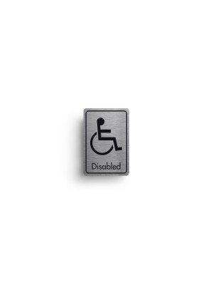DM044 - Disabled Symbol with Text Door Sign