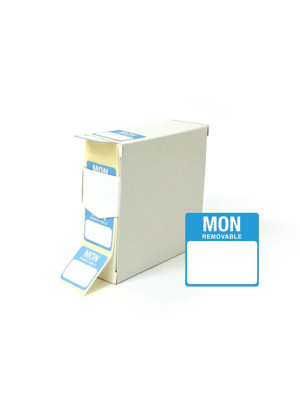 Monday 25x25mm Food Labels - DY044