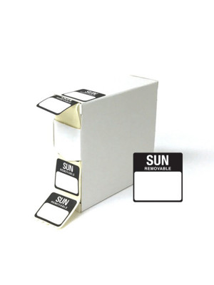 Sunday 25x25mm Food Labels - DY050