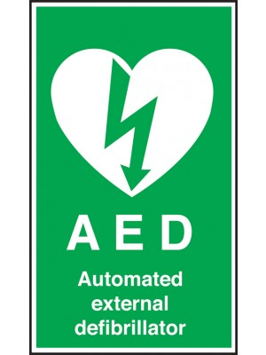 AED Automated External Defibrillator Notice