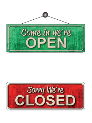 Open & Closed Notice - FD162