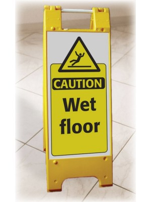 Wet Floor Heavy Duty Floor Stand - FL022