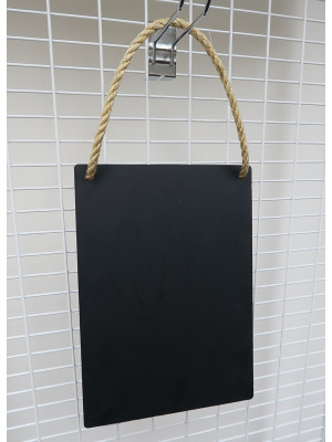 Portrait Rustic Hanging HPL Chalkboard Panel - Multiple Options