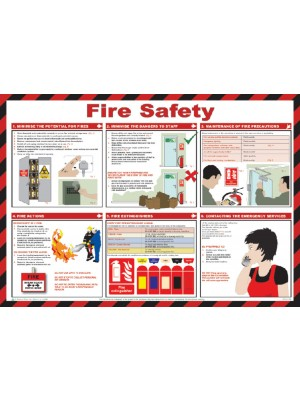 Fire Safety Poster - HSP01