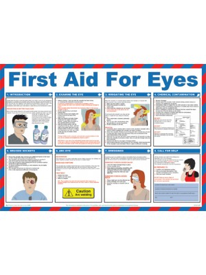 First Aid for Eyes Poster - HSP06