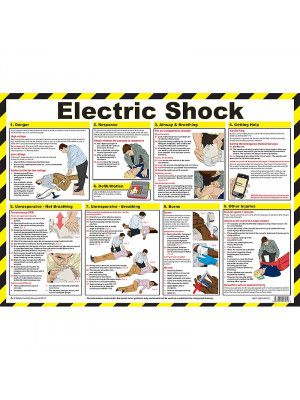 Electric Shock Poster - HSP10