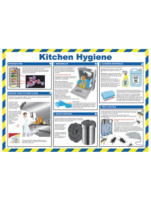 Kitchen Hygiene Poster - HSP17