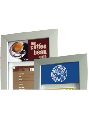 Personalised Headers for Lockable Menu Cases - Multiple Sizes