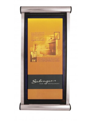 Non-Illuminated Prestige Exterior Lockable Menu Display Cases - Multiple Sizes