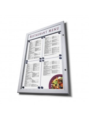 Illuminated Premium Outdoor Menu Case - Multiple Sizes