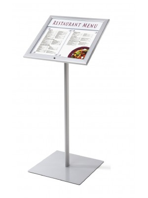 Non Illuminated Premium Lockable Menu Stand - Multiple Options