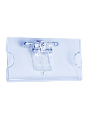 Clear Name Badges with Pin - Multipack - NB006