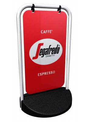 Swinger Panel Pavement Sign Range with Printed Graphics - Multiple Options
