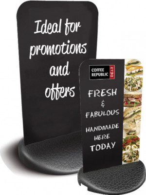 Slimflex 2 Chalk HPL Pavement Sign - Graphic Options