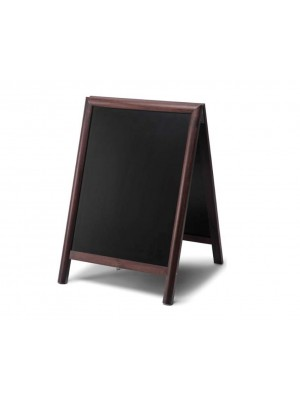 Round Hardwood Frame A-Board - Multiple Sizes