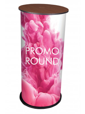 Round Promotional Counter Display