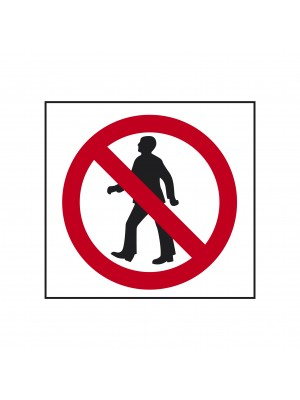 No Entry Symbol Sign