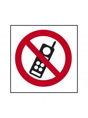 No Mobiles Symbol Sign