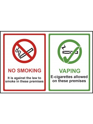 No Smoking & Vaping Sign