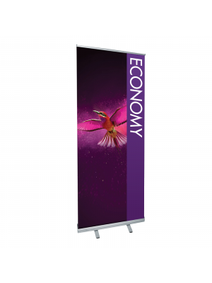 Economy Roller Banners - Single Sided