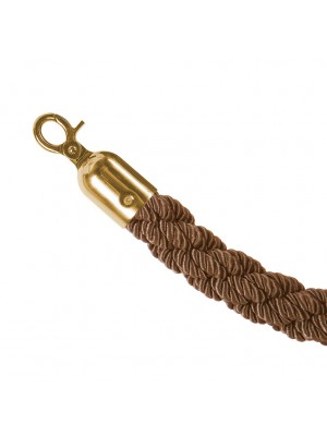 Bronze 1.5metre Twisted Rope - RBS006 BRONZE