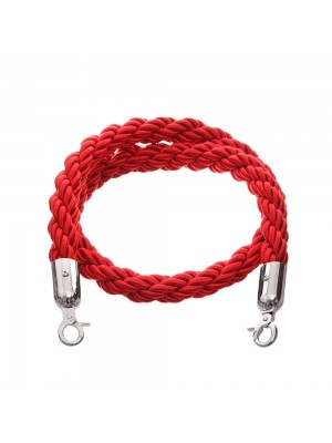 Red 1.5 metre Twisted Rope - RBS008 RED
