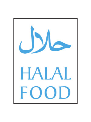 Halal Food Notices - Material Options