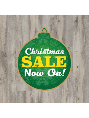 SD353 SD354 Christmas Sale Now On Floor Graphic