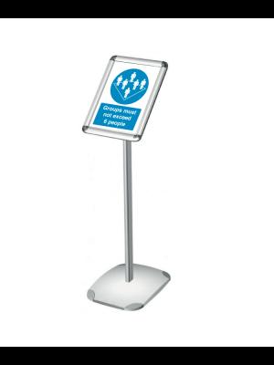 A4 & A3 Single Sided Angled Decorative Menu Display Stand
