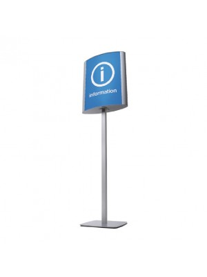 A3 & A2 Double Sided Curved Signpoint - Multiple Sizes