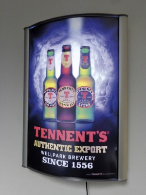 D-Light Illuminated Poster Display - Multiple Sizes