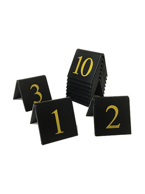 Table Top Table Number Sets - TNB Range