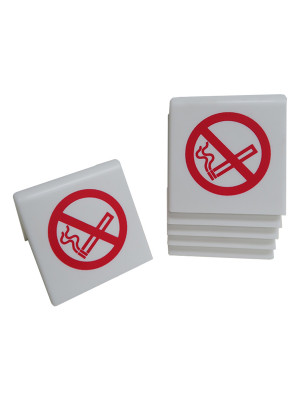 No Smoking Symbol Table Notices - TNWS - Multipack