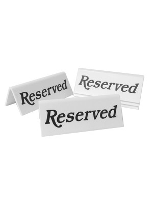 Reserved Table Notice - TTW05 - Multipack