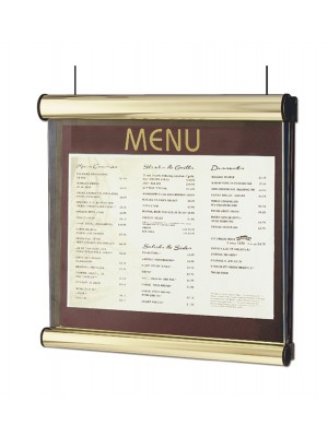 Illuminated Prestige Window Hanging Display Cases - Multiple Options