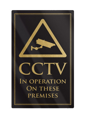 CCTV in Operation Notice - Frame Options