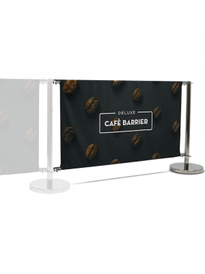 Deluxe Cafe Barrier Extension Kit - 1500mm Double Sided Print