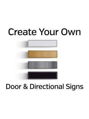 Custom Made Door & Directional Signs
