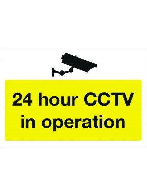 24hr CCTV in Operation Sign