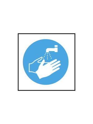 Wash Hands Symbol Notice - CS022