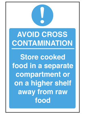 Avoid Cross Contamination Notice - CS135