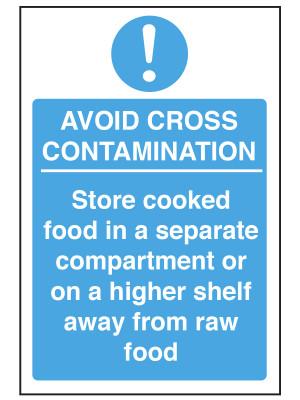 Avoid Cross Contamination Notice - CS135