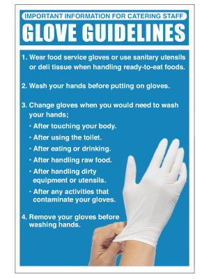 Glove Guidelines Notice - CS152