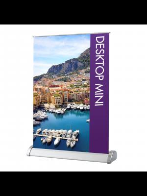 Desktop Mini Display Banners - Single Sided